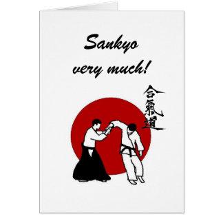 Sankyo very much greeting cards
