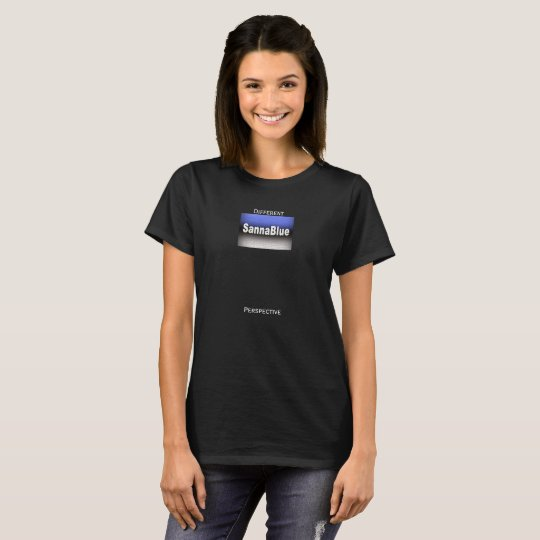 SannaBlue 'Different Perspective' Women's T-Shirt