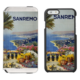 Sanremo Italy vintage travel cases Incipio Watson™ iPhone 6 Wallet Case