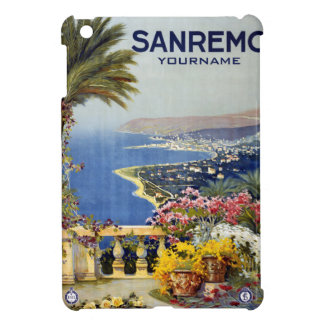 Sanremo Italy vintage travel custom cases Cover For The iPad Mini