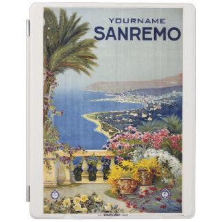 Sanremo Italy vintage travel device covers iPad Cover