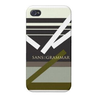 """Sans Grammar"" iPhone 4 Covers"