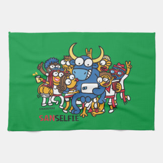 Sanselfie Tea Towel