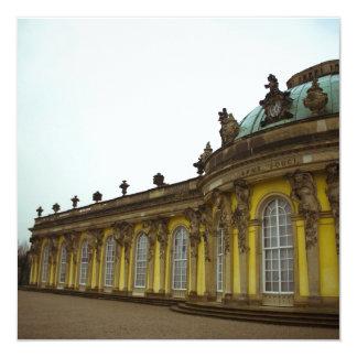 Sanssouci Palace 13 Cm X 13 Cm Square Invitation Card