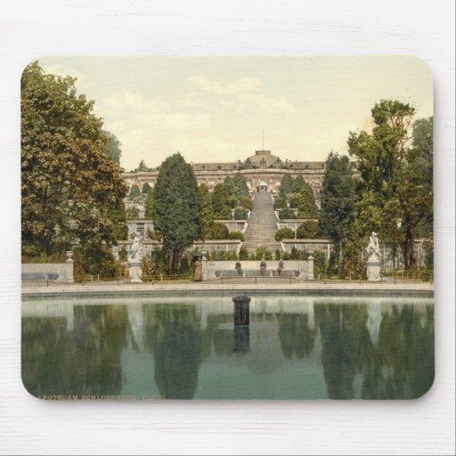 Sanssouci Palace, Potsdam, Berlin, Germany Mousepad
