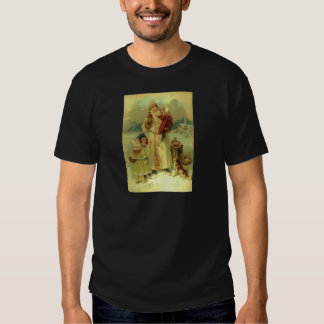 Santa 1897 Victorian Christmas Vintage Shirt
