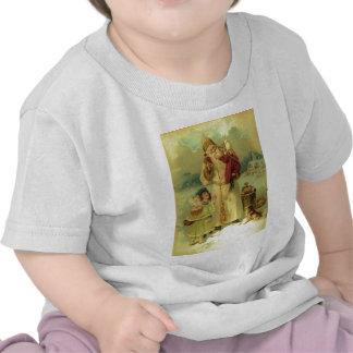 Santa 1897 Victorian Vintage Christmas T-shirts