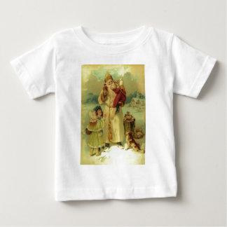 Santa 1897 Victorian Vintage Christmas Tee Shirt
