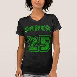 SANTA 25 VINTAGE GREEN TSHIRT