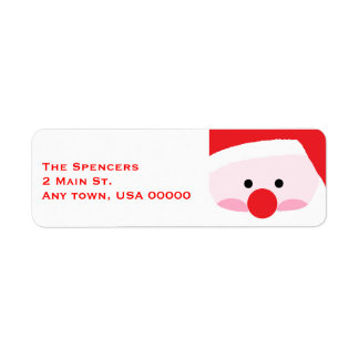 """Santa"" Address Labels"