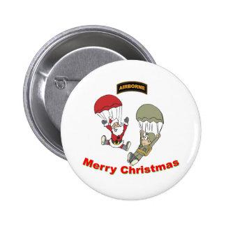 Santa Airborne II Button