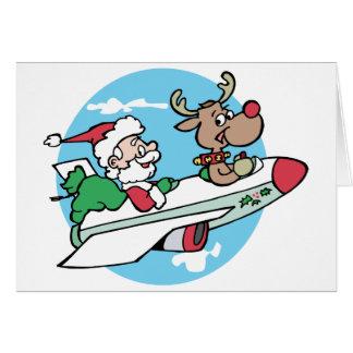 Santa Airways Greeting Card
