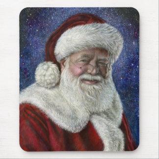 Santa amongst the Stars Mouse Pad