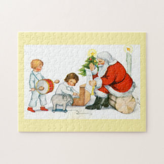Santa and children jigsaw puzzle