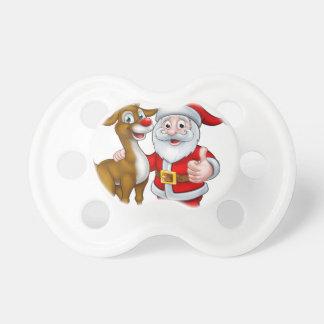 Santa and Christmas Reindeer Dummy
