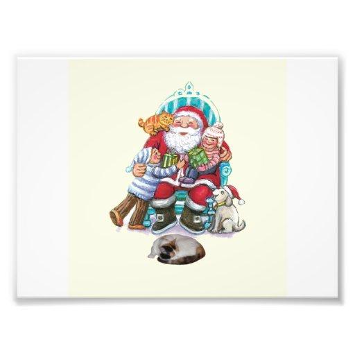 Santa and Friends Photograph