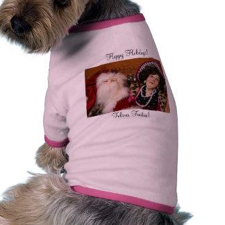 Santa and his girlfriend Pet Clothing