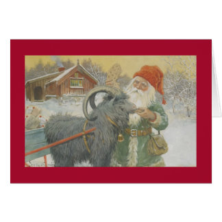 Santa and his Sleigh Card