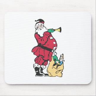 Santa And His Toy Bag Mouse Pad