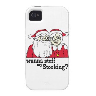 Santa and Mrs Claus iPhone 4/4S Cover