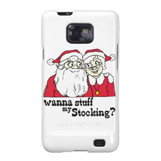 Santa and Mrs Claus Samsung Galaxy S Case