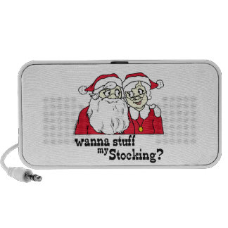 Santa and Mrs Claus Mp3 Speaker