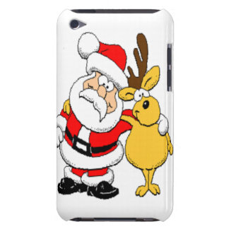 Santa and Reindeer Case-Mate iPod Touch Case