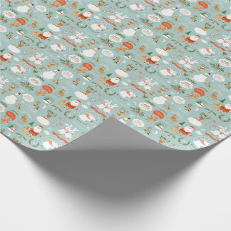 Santa and Snowman Themed Wrapping Paper! Wrapping Paper