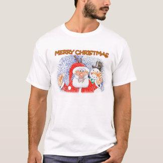 Santa and Snowy T-Shirt