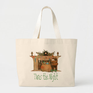 Santa and the Fireplace Bag