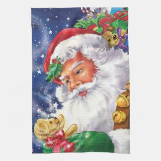 Santa and Toys Kitchen Towel