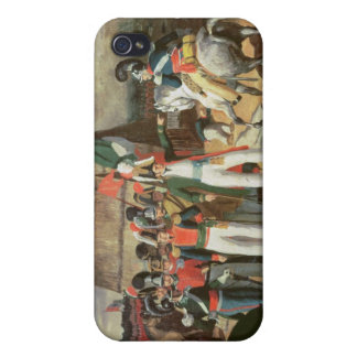 Santa Anna defies the Spanish troops iPhone 4/4S Cover