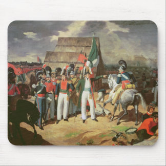 Santa Anna defies the Spanish troops Mouse Mat