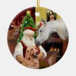 Santa - Arabian Horse and Golden
