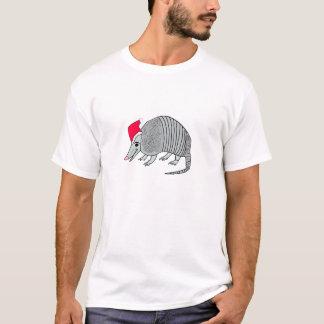 Santa Armadillo Christmas T-Shirt