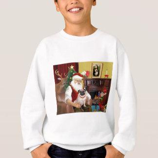 Santa At Home - Pug #5 Sweatshirt