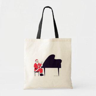 Santa at the Keys Budget Tote Bag