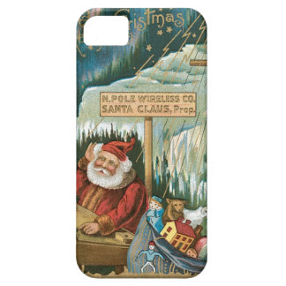 Santa at the North Pole iPhone 5 Covers
