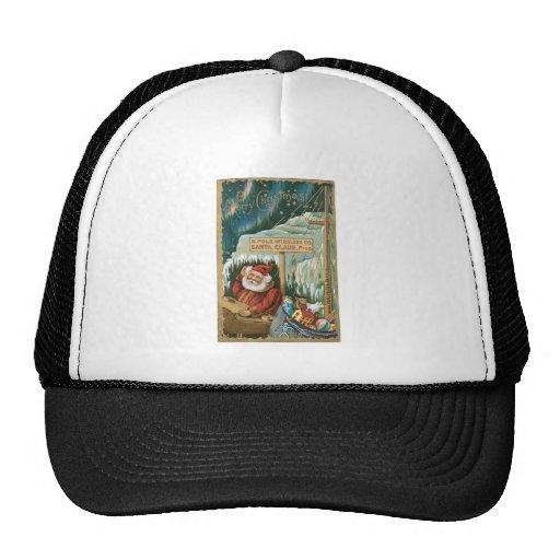 Santa at the North Pole Trucker Hats