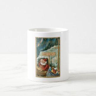 Santa at the North Pole Mugs