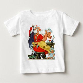 Santa at Work Baby T-Shirt