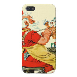 Santa at Work Case For The iPhone 5