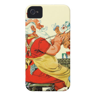 Santa at Work Case-Mate iPhone 4 Case