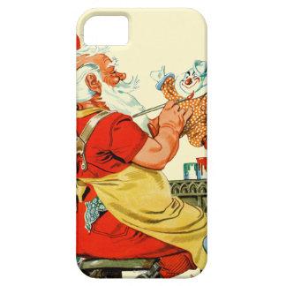 Santa at Work iPhone 5 Covers