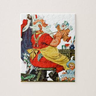 Santa at Work Jigsaw Puzzle