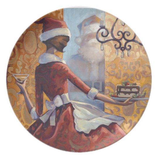 Santa Baby Plate