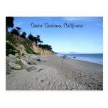 Santa Barbara Beach Postcard