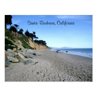 Santa Barbara Beach Postcard