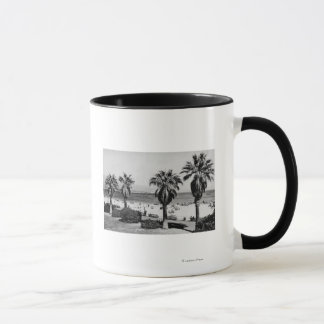 Santa Barbara, CA West Beach View Photograph Mug