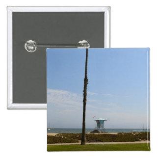 Santa Barbara, California 15 Cm Square Badge